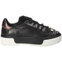 Schoenen Dames Lage sneakers Janet Sport 42729 Zwart