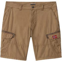 Textiel Heren Korte broeken / Bermuda's Napapijri NP0A4E1O Bruin