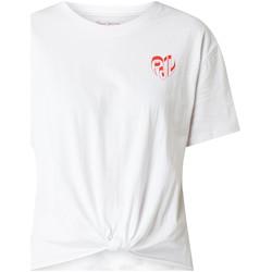 Textiel Dames T-shirts korte mouwen Pepe jeans PL504458 Wit