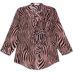 Textiel Dames Overhemden NeroGiardini E063181D Zwart