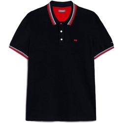 Textiel Heren Polo's korte mouwen NeroGiardini E072390U Blauw