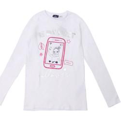 Textiel Kinderen T-shirts met lange mouwen Chicco 09006871000000 Wit