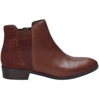 Schoenen Dames Laarzen Geox D640CF 04322 Bruin