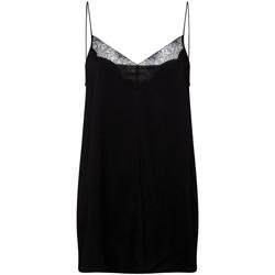 Textiel Dames Tops / Blousjes Calvin Klein Jeans K20K201686 Zwart