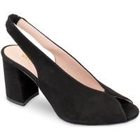 Schoenen Dames Sandalen / Open schoenen Valleverde 29201 Zwart