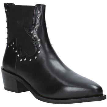 Schoenen Dames Enkellaarzen Apepazza 9FCLM05 Zwart