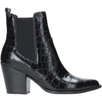 Schoenen Dames Enkellaarzen Steve Madden SMSPATRICIA-BLKCRO Zwart