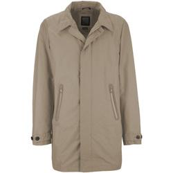Textiel Heren Mantel jassen Geox M7221Q T2270 Beige