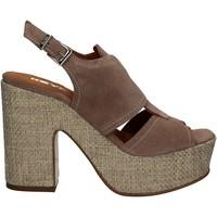 Schoenen Dames Sandalen / Open schoenen Keys 5263 Beige