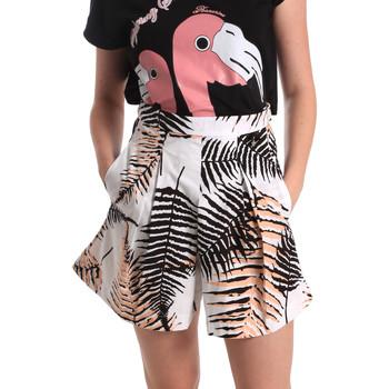 Textiel Dames Korte broeken / Bermuda's Fornarina BER1I88C97709 Wit
