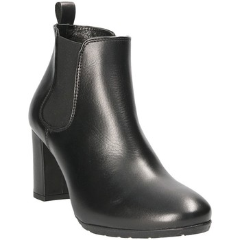 Schoenen Dames Enkellaarzen Mally 5500S Zwart