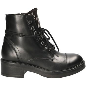 Schoenen Dames Laarzen Mally 6019 Zwart