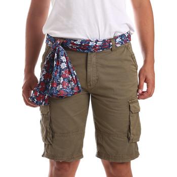 Textiel Heren Zwembroeken/ Zwemshorts Gaudi 911BU25034 Groen