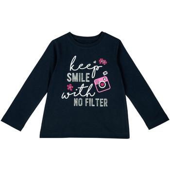 Textiel Kinderen T-shirts met lange mouwen Chicco 09006871000000 Blauw