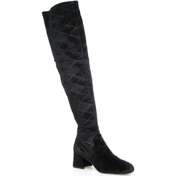 Schoenen Dames Lieslaarzen Apepazza SHR06 Zwart