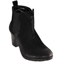 Schoenen Dames Enkellaarzen Mally 5500 Zwart
