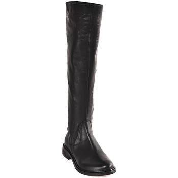 Schoenen Dames Hoge laarzen Mally 6463 Zwart