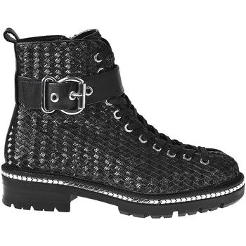 Schoenen Dames Enkellaarzen Elvio Zanon I6508N Zwart