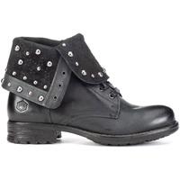 Schoenen Dames Enkellaarzen Lumberjack SW53001 003 Q12 Zwart