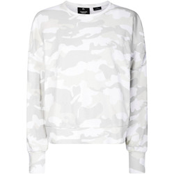 Textiel Dames Sweaters / Sweatshirts Calvin Klein Jeans 00GWH9W391 Wit