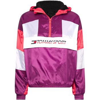 Textiel Dames Trainings jassen Tommy Hilfiger S10S100416 Paars
