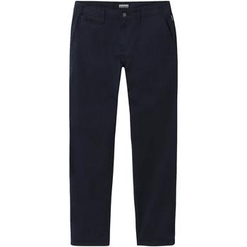 Textiel Heren Chino's Napapijri NP0A4E32 Blauw