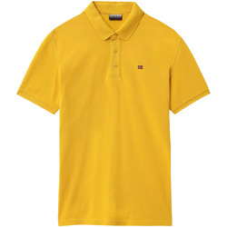 Textiel Heren Polo's korte mouwen Napapijri NP0A4E2M Geel