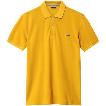 Textiel Heren Polo's korte mouwen Napapijri NP0A4EGD Geel