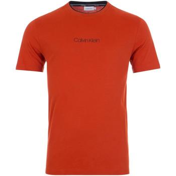 Textiel Heren T-shirts korte mouwen Calvin Klein Jeans K10K104934 Rood