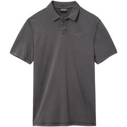 Textiel Heren Polo's korte mouwen Napapijri NP0A4E2L Grijs