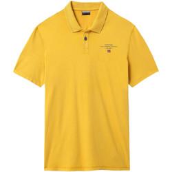 Textiel Heren Polo's korte mouwen Napapijri NP0A4E2L Geel