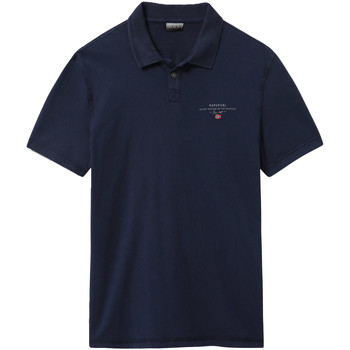 Textiel Heren Polo's korte mouwen Napapijri NP0A4E2L Blauw