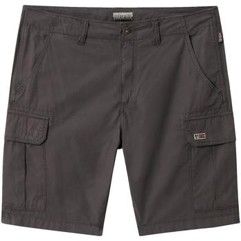 Textiel Heren Korte broeken / Bermuda's Napapijri NP0A4E1K Grijs