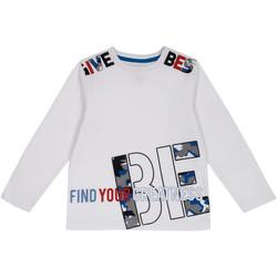 Textiel Kinderen T-shirts met lange mouwen Chicco 09006867000000 Wit
