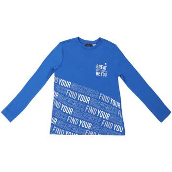 Textiel Kinderen T-shirts met lange mouwen Chicco 09006867000000 Blauw