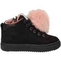Schoenen Kinderen Hoge sneakers Grunland PO1081 Zwart