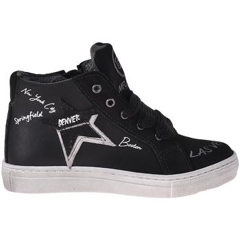 Schoenen Kinderen Hoge sneakers Melania ME2041D8I.A Zwart