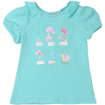Textiel Kinderen T-shirts korte mouwen Chicco 09006969000000 Blauw