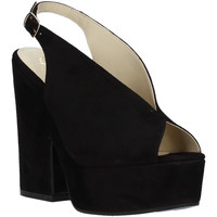 Schoenen Dames Sandalen / Open schoenen Grace Shoes ALBA 107 Zwart