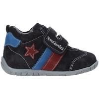 Schoenen Kinderen Lage sneakers NeroGiardini A919010M Blauw
