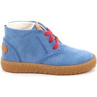 Schoenen Kinderen Hoge sneakers Grunland PO1471 Blauw