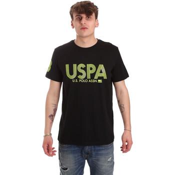 Textiel Heren T-shirts korte mouwen U.S Polo Assn. 57197 49351 Zwart