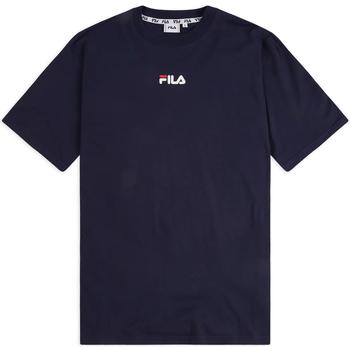 Textiel Heren T-shirts korte mouwen Fila 687484 Blauw