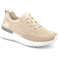 Schoenen Dames Lage sneakers Grunland SC4906 Beige