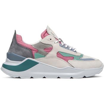 Schoenen Dames Lage sneakers Date W321-FG-NK-PK Roze