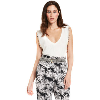 Textiel Dames Tops / Blousjes Gaudi 011FD64008 Wit