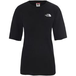 Textiel Dames T-shirts korte mouwen The North Face NF0A4CESJK31 Zwart