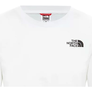 Textiel Dames T-shirts korte mouwen The North Face NF0A4CESFN41 Wit