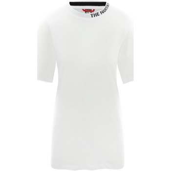 Textiel Dames T-shirts korte mouwen The North Face NF0A491QFN41 Wit