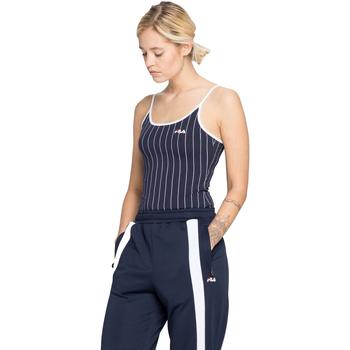 Textiel Dames Tops / Blousjes Fila 687610 Blauw